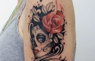 Tatuaje de catrina