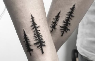 árbol tatuaje