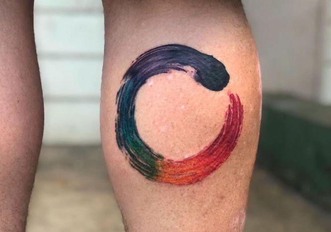 circulo zen colores