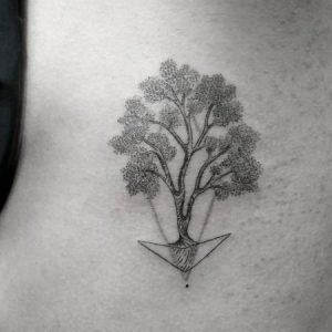 Los mejores Diseños de Tatuajes de Árboles con su Significado
