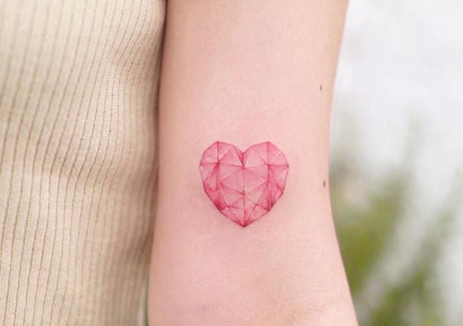tatuaje diamante mujer