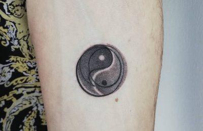 tatuaje ying yang