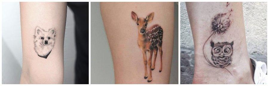 tatuajes de animales pequeños