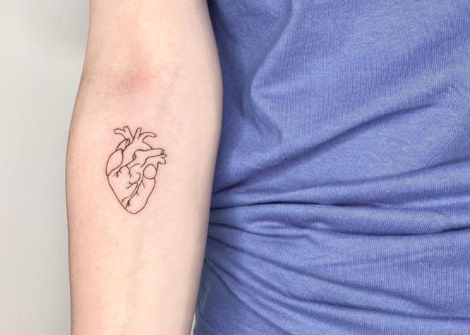 tatuajes pequeños mujer brazo