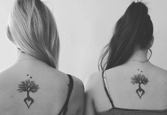 tatuajes hermanas arbol de la vida