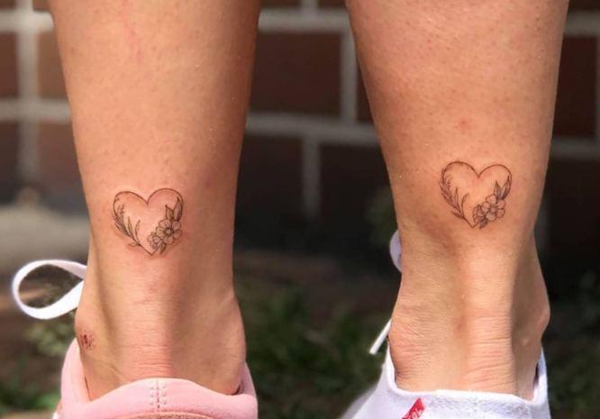 tatuajes madre hija corazones