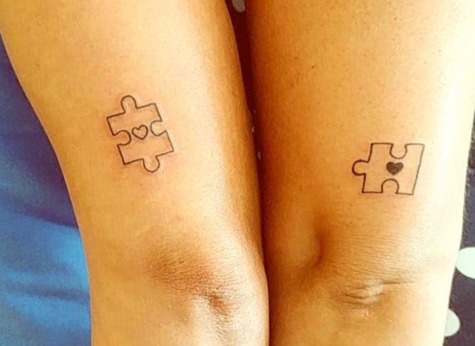 tatuajes pareja puzzles