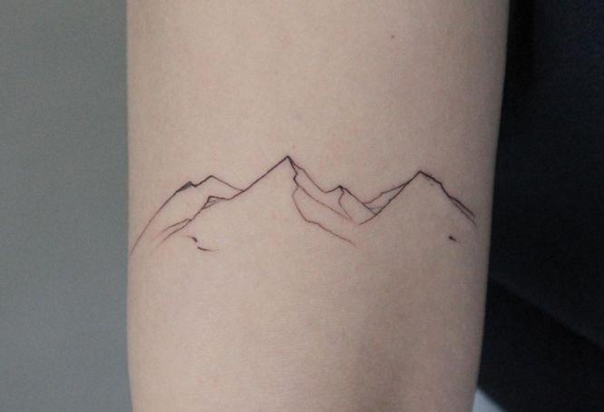 tatuajes viajes montaña