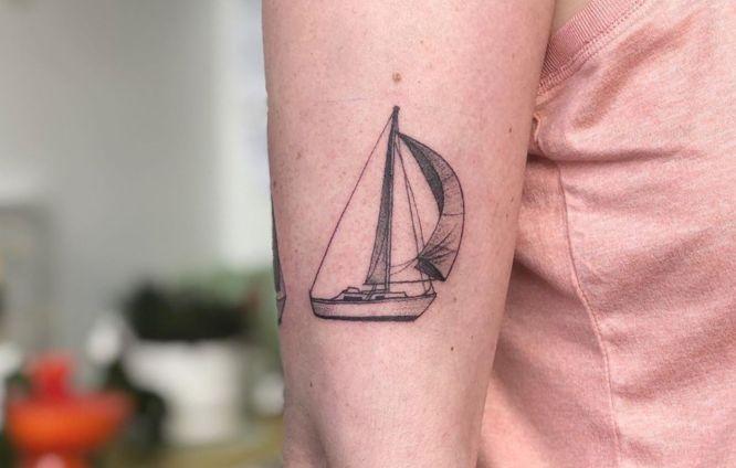 tatuajes viajes velero
