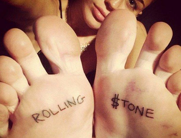 rolling stones pies
