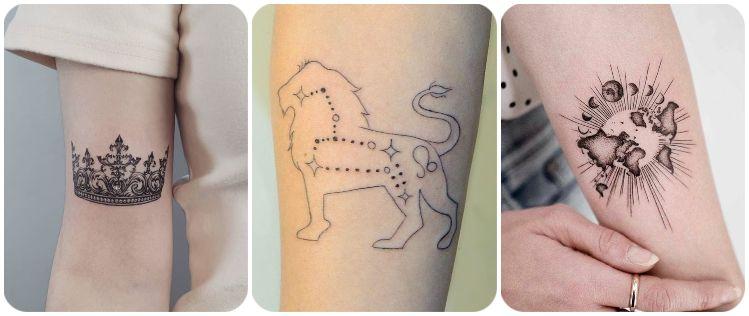 tatuaje signo leo