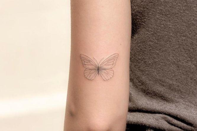 tatuaje tumblr mariposa