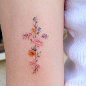 Top 30 Tatuajes de Cruz con gran Significado