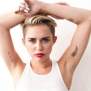 Los tatuajes de Miley Cyrus: ¿sus significados?