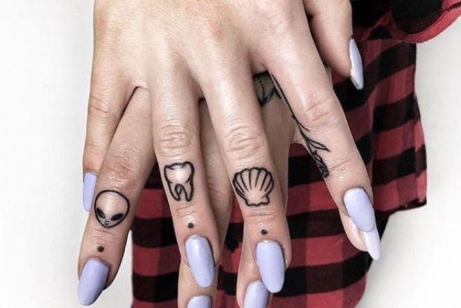 tatuajes originales manos