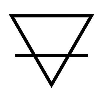 significado triangulo raya