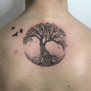 Tatuajes Árbol de la Vida: con Significado, Ideas y Diseños