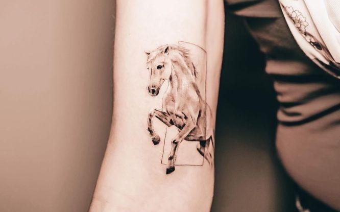 tatuajes caballo pequeño