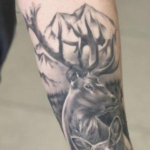 Tatuajes de Ciervos o Venados con Significado, Diseños e Ideas