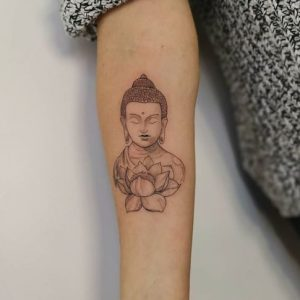 Tatuajes de Flor de Loto con su Significado, Diseños e Ideas