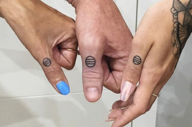 tatuajes glifos familia