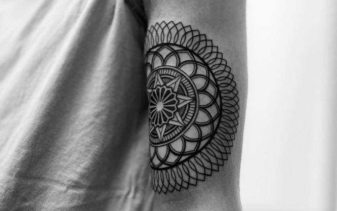 tatuajes mandalas pequeños brazo