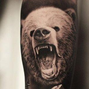 Tatuajes de Oso con Significado, Diseños e Ideas