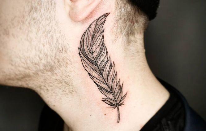 Tatuajes De Pluma Con Significado Diseños E Ideas Tatuing