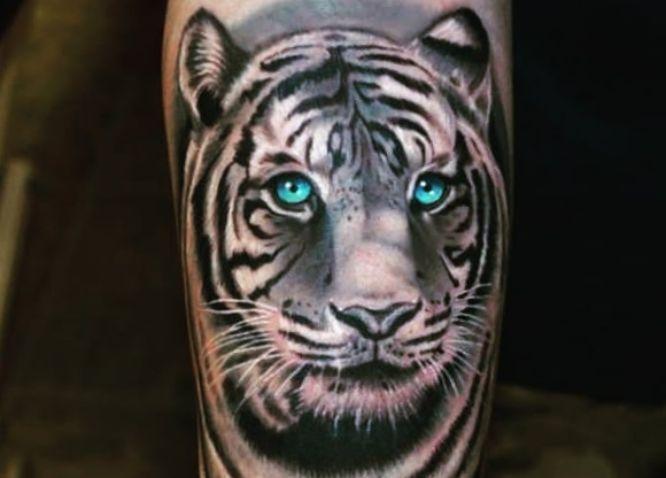 tatuajes tigre blanco