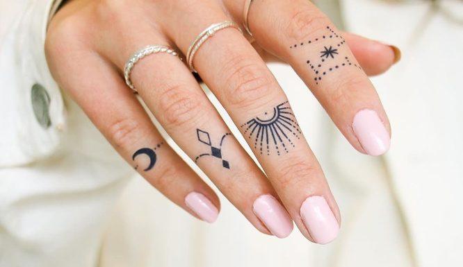 tatuajes dedos mujer pequeños