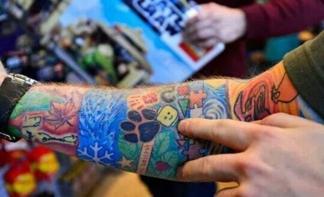 tatuajes ed sheeran huella perro