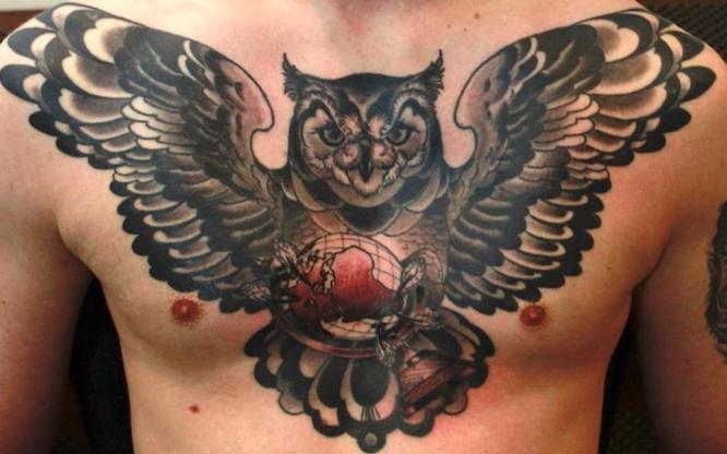 tatuajes pecho entero hombre