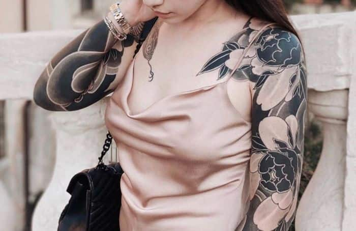 tatuajes japoneses mujer