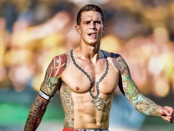 Daniel Agger tatuaje futbolista
