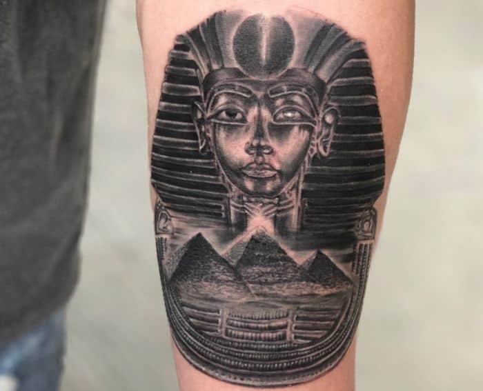 tatuajes egipcio faraon