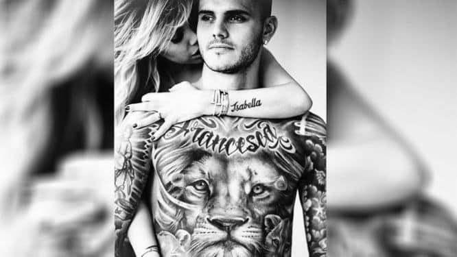 tatuajes icardi futbolista