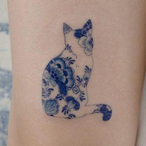 Tatuajes de porcelana, la tendencia asiática que te va a encantar
