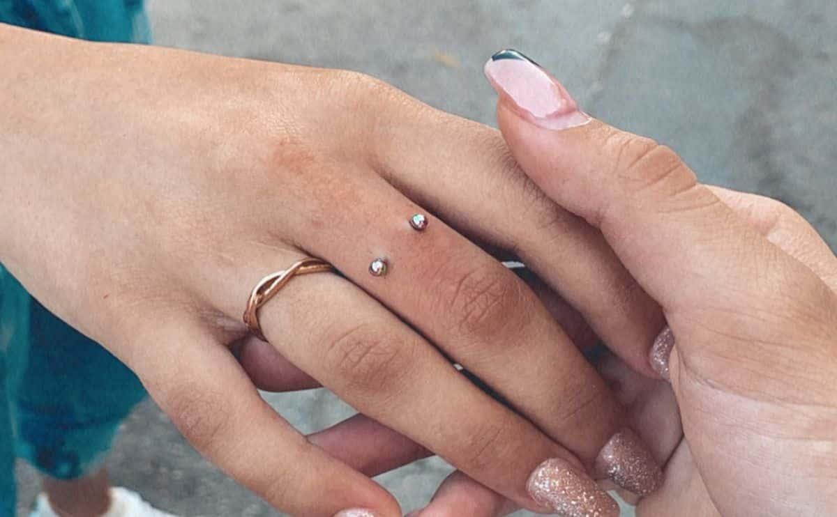 piercing finger