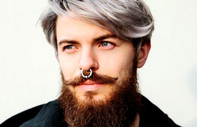 piercing hombre nariz